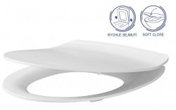SET Duofix Sada pro závěsné WC 458.103.00.1 + tlačítko DELTA50 bílé + WC CERSANIT MODUO CLEANON + SEDÁTKO (458.103.00.1 50BI MO1) - AKCE/SET/GEBERIT, fotografie 2/10