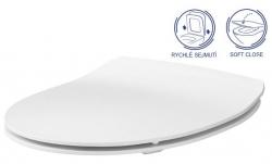 SET Duofix Sada pro závěsné WC 458.103.00.1 + tlačítko DELTA50 bílé + WC CERSANIT MODUO CLEANON + SEDÁTKO (458.103.00.1 50BI MO1) - AKCE/SET/GEBERIT, fotografie 6/10
