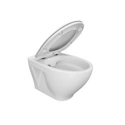 SET Duofix Sada pro závěsné WC 458.103.00.1 + tlačítko DELTA50 bílé + WC CERSANIT MODUO CLEANON + SEDÁTKO (458.103.00.1 50BI MO1) - AKCE/SET/GEBERIT, fotografie 8/10
