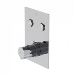 STEINBERG - Podomítková termostatická baterie se systémem PUSHTRONIC, 2 výstupy (390 4221)
