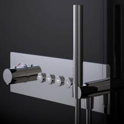 STEINBERG - Podomítková termostatická souprava se systémem PUSHTRONIC, 4 výstupy (390 4242), fotografie 10/8