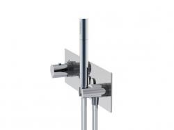 STEINBERG - Podomítková termostatická souprava se systémem PUSHTRONIC, 4 výstupy (390 4242), fotografie 2/8