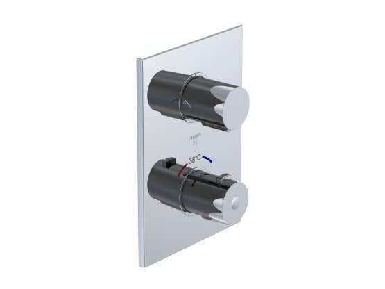 STEINBERG - Podomítková termostatická baterie, 2-cestná /bez tělesa/, chrom (120 4133 1)