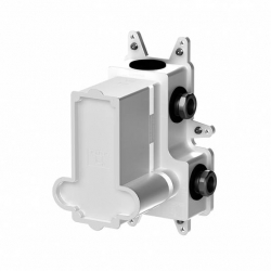 Podomítkové montážní těleso pro termostatické baterie, 2-cestné, černá mat  (010 4140 S) - STEINBERG