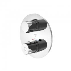 STEINBERG - Podomítková termostatická baterie /bez montážního tělesa/, chrom (100 4102 1)