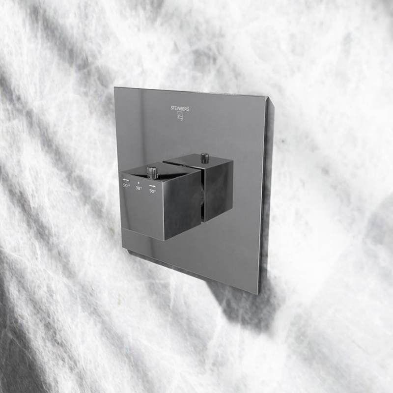 STEINBERG - Termostatická podomítková baterie /bez montážního tělesa/, chrom (160 4202)