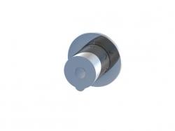 STEINBERG - Přepínač 3-cestný, chrom (100 4372 1)