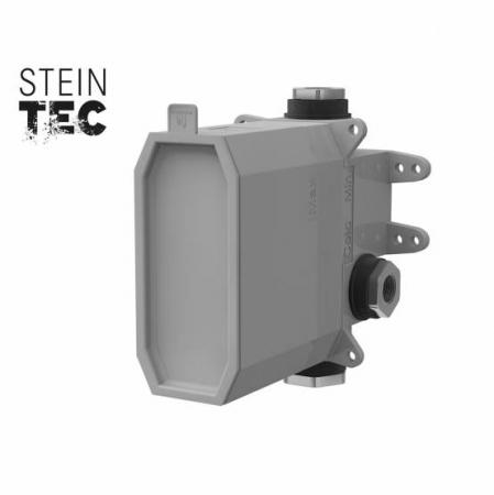 """STEINBOX Podomítkové montážní těleso 1/2"""" pro vanové/sprchové baterie, černá mat (010 2110 S) - STEINBERG"""