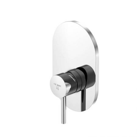 STEINBERG - Podomítková jednopáková směšovací baterie pro vanu/ sprchu, chrom (100 2243)