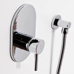 STEINBERG - Podomítková jednopáková směšovací baterie pro vanu/ sprchu, chrom (100 2243), fotografie 2/2