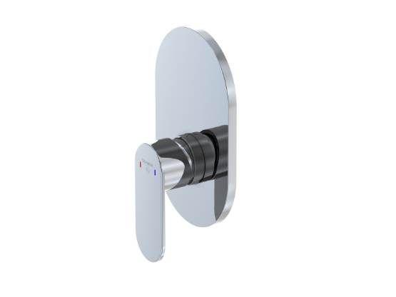STEINBERG - Podomítková jednopáková směšovací baterie pro vanu/ sprchu, chrom (170 2243)