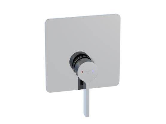 STEINBERG - Podomítková jednopáková směšovací baterie pro vanu/ sprchu, chrom (230 2243)