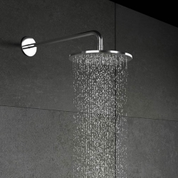 STEINBERG - Horní sprcha déšť bez ramene, průměr 200 mm, chrom (100 1687), fotografie 6/5