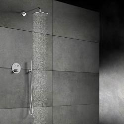 STEINBERG - Horní sprcha déšť bez ramene, průměr 250 mm, chrom (100 1686), fotografie 8/5