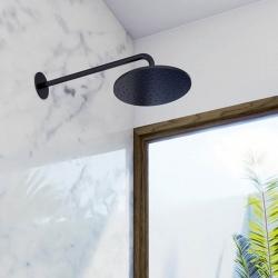 Hlavová sprcha 250x8mm, Easy-clean systém, černá mat (100 1686 S) - STEINBERG, fotografie 2/3