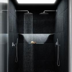 STEINBERG - Hlavová sprcha 300x8 mm, Easy-clean systém, chrom (100 1688), fotografie 4/6