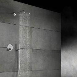 STEINBERG - Hlavová sprcha 300x8 mm, Easy-clean systém, chrom (100 1688), fotografie 6/6