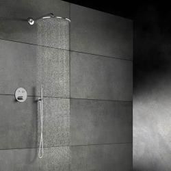 STEINBERG - Hlavová sprcha 400x8 mm, Easy-clean systém, chrom (100 1689), fotografie 6/4