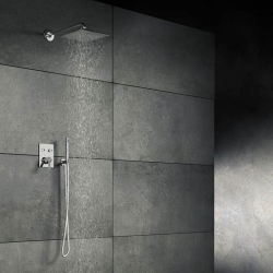 STEINBERG - Sprchová hlavice 300x300x8 mm, chrom (120 1686), fotografie 8/5