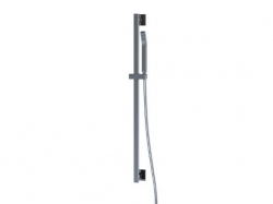 STEINBERG - Sprchová souprava s tyčí 900 mm, kovovou ruční sprchou a hadicí 1800 mm, chrom (120 1602)