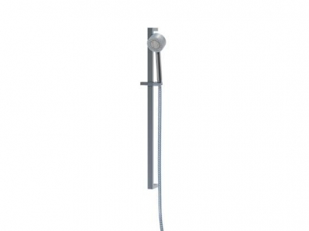 STEINBERG - Sprchová souprava s tyčí 900 mm, ruční sprcha 3 funkce, hadice 1800 mm, chrom (135 1622)