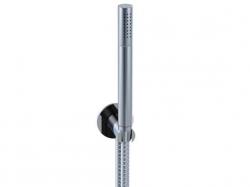 STEINBERG - Sprchová souprava, chrom (držák ruční sprchy s přívodem vody, ruční sprcha, kovová hadice) (100 1670), fotografie 6/6