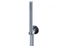 STEINBERG - Sprchová souprava, chrom (držák ruční sprchy s přívodem vody, ruční sprcha, kovová hadice) (100 1670), fotografie 4/6