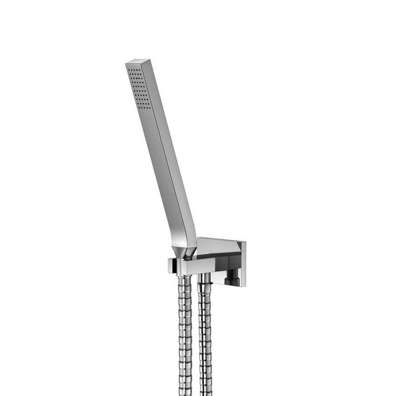 STEINBERG Sprchová souprava, chrom (držák ruční sprchy s přívodem vody, ruční sprcha, kovová hadice) 135 1670