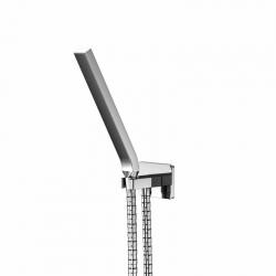 STEINBERG - Sprchová souprava, chrom (držák ruční sprchy s přívodem vody, ruční sprcha, kovová hadice) (200 1670)