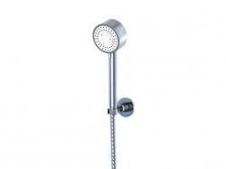 STEINBERG - Sprchová souprava, chrom (nástěnný držák, ruční sprcha 3 funkce, hadice) (100 1626), fotografie 4/5