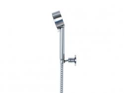 STEINBERG - Sprchová souprava, chrom (nástěnný držák, ruční sprcha 3 funkce, hadice) (100 1626), fotografie 2/5
