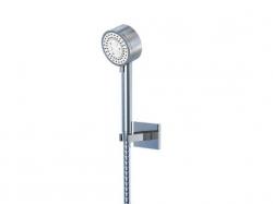 Sprchová souprava, chrom (nástěnný držák, ruční sprcha 3 funkce, hadice) (135 1626) - STEINBERG