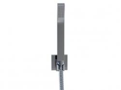 STEINBERG - Sprchová souprava, chrom (nástěnný držák, ruční sprcha, kovová hadice) (120 1650), fotografie 6/5