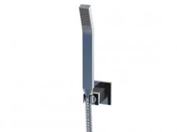 STEINBERG - Sprchová souprava, chrom (nástěnný držák, ruční sprcha, kovová hadice) (120 1650), fotografie 4/5