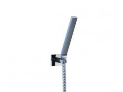 STEINBERG - Sprchová souprava, chrom (nástěnný držák, ruční sprcha, kovová hadice) (200 1650)