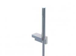 STEINBERG - Sprchová souprava, chrom (nástěnný držák, ruční sprcha, kovová hadice) (230 1650)