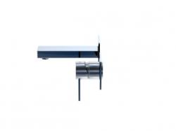 STEINBERG - Nástěnná páková umyvadlová baterie včetně montážního tělesa, chrom (120 1801), fotografie 2/4