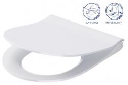 GEBERIT DuofixBasic s bílým tlačítkem DELTA51 + WC CERSANIT CLEANON CITY (458.103.00.1 51BI CI1), fotografie 16/9
