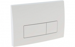 GEBERIT DuofixBasic s bílým tlačítkem DELTA51 + WC CERSANIT CLEANON CITY (458.103.00.1 51BI CI1), fotografie 4/9