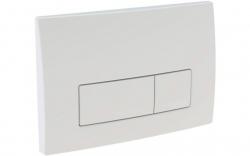GEBERIT DuofixBasic s bílým tlačítkem DELTA51 + WC CERSANIT ZEN CLEANON + SEDÁTKO (458.103.00.1 51BI HA1), fotografie 4/8