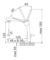 STEINBERG - Umyvadlová páková baterie bez výpusti, chrom (240 1025), fotografie 10/5