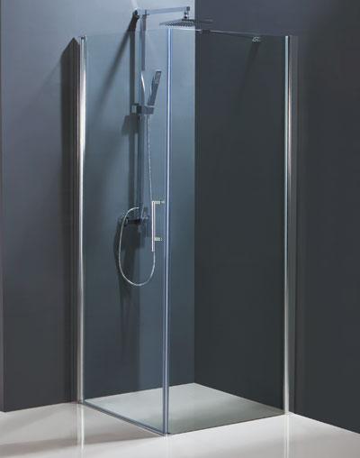 VÝPRODEJ Sprchový kout MADEIRA II KOMBI Čelní panel Frost (levé) 85 × 195 cm BCMADE285CFLVYP