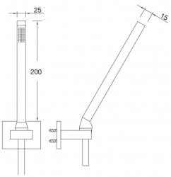 Ruční sprcha (135 1655) - STEINBERG, fotografie 12/6