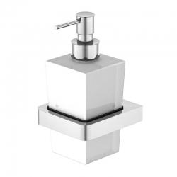 STEINBERG - Dávkovač tekutého mýdla, bílé sklo (420 8001)