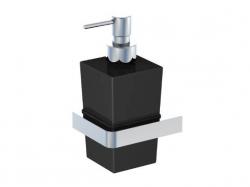 Dávkovač tekutého mýdla, černé sklo (420 8002) - STEINBERG