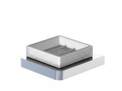 Mýdlenka, bílé sklo (420 2201) - STEINBERG