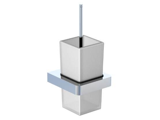 STEINBERG WC štětka, bílé sklo 420 2901