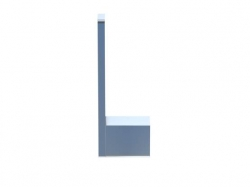 Držák na náhradní toaletní papír (420 2850) - STEINBERG, fotografie 2/5