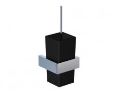 WC štětka, černé sklo (460 2904) - STEINBERG