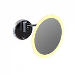LED kosmetické zrcátko, s dotykovým senzorem, chrom (650 9030) - STEINBERG